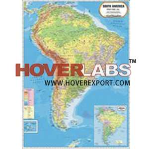 South America Physical Map India, Manufacturers, Suppliers ...