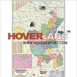 Haryana Political Map India, Manufacturers, Suppliers
