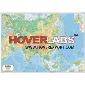 Asia Physical Map India, Manufacturers, Suppliers & Exporters in India